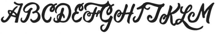 Bohemian Alchemist Script otf (400) Font UPPERCASE