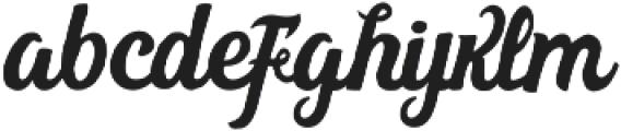 Bohemian Alchemist Script otf (400) Font LOWERCASE