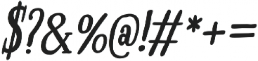 Boho Serif otf (700) Font OTHER CHARS