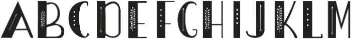 Boho_font otf (400) Font UPPERCASE