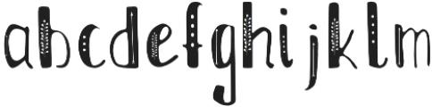 Boho_font otf (400) Font LOWERCASE