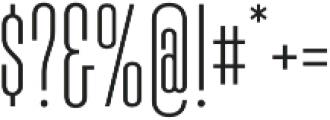 Boilermaker Regular otf (400) Font OTHER CHARS