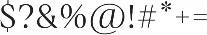 Boita otf (400) Font OTHER CHARS