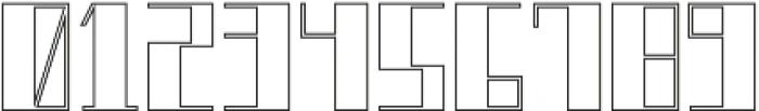 Boku Outline otf (400) Font OTHER CHARS
