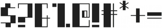 Boku otf (400) Font OTHER CHARS