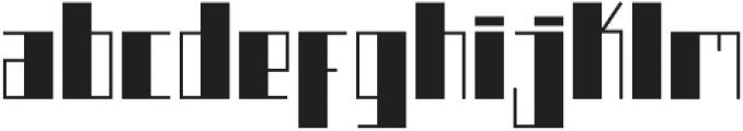 Boku otf (400) Font LOWERCASE