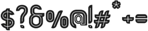 Bold Alternative otf (700) Font OTHER CHARS