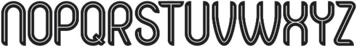 Bold Alternative otf (700) Font UPPERCASE
