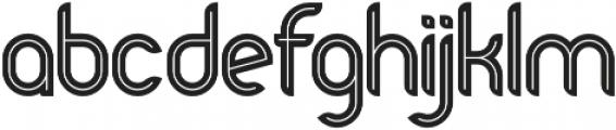 Bold Alternative otf (700) Font LOWERCASE