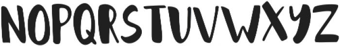 Bold Brush Sans ttf (700) Font LOWERCASE
