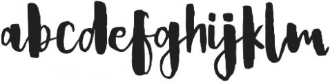 Bold Ink ttf (700) Font LOWERCASE