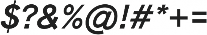 Bold Italic Legacy otf (700) Font OTHER CHARS