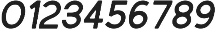 Bold Oblique Round otf (700) Font OTHER CHARS