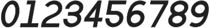 Bold Oblique otf (700) Font OTHER CHARS