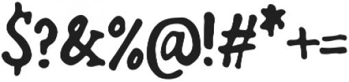 Bold-Riley otf (700) Font OTHER CHARS