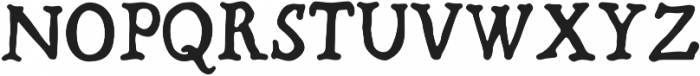 Bold-Riley otf (700) Font UPPERCASE