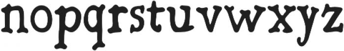 Bold-Riley otf (700) Font LOWERCASE