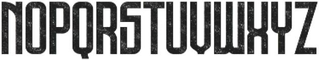 Bold Rough ttf (700) Font UPPERCASE