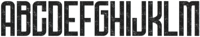 Bold Rough ttf (700) Font LOWERCASE