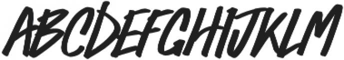 Bold Vision otf (700) Font UPPERCASE