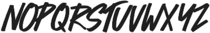 Bold Vision otf (700) Font LOWERCASE