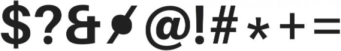 Bold otf (700) Font OTHER CHARS