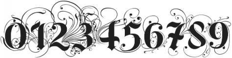 BoldAyres otf (700) Font OTHER CHARS