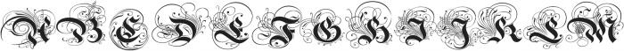 BoldAyres otf (700) Font UPPERCASE