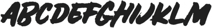 Bolder ALT otf (700) Font UPPERCASE