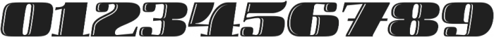 Boldesqo Serif 4F Inline Italic otf (700) Font OTHER CHARS