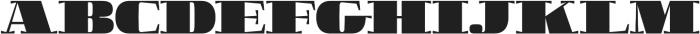 Boldesqo Serif 4F otf (700) Font UPPERCASE