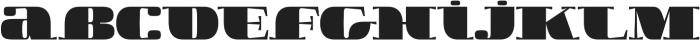 Boldesqo Serif 4F otf (700) Font LOWERCASE