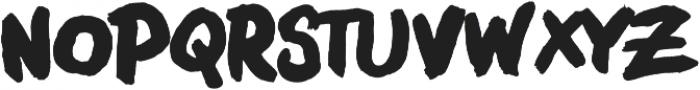 Boldface Lowercase Regular otf (700) Font LOWERCASE