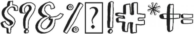 Boltis otf (400) Font OTHER CHARS
