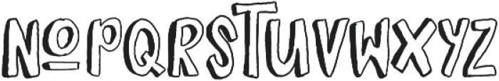 Boltis otf (400) Font LOWERCASE