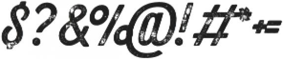 Bolton Print Script Bold otf (700) Font OTHER CHARS