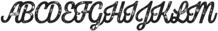 Bolton Print Script Bold otf (700) Font UPPERCASE