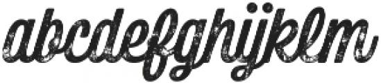 Bolton Print Script Bold otf (700) Font LOWERCASE