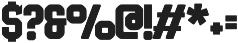 Bolton Serif Bold otf (700) Font OTHER CHARS