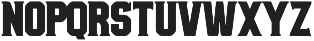 Bolton Serif Bold otf (700) Font UPPERCASE
