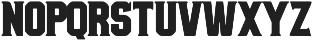 Bolton Serif Bold otf (700) Font LOWERCASE