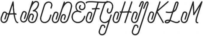 Bolton otf (400) Font UPPERCASE