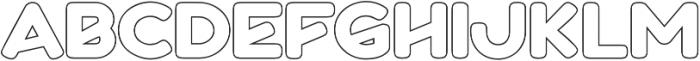 Boltz Outline otf (400) Font UPPERCASE