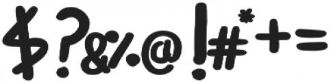 Boluda Sans Bold otf (700) Font OTHER CHARS