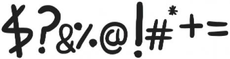 Boluda Sans otf (400) Font OTHER CHARS