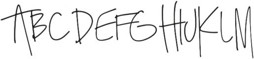 Bombshell Script otf (400) Font UPPERCASE