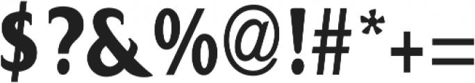 Bon Serif Regular ttf (400) Font OTHER CHARS