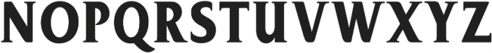 Bon Serif Regular ttf (400) Font UPPERCASE