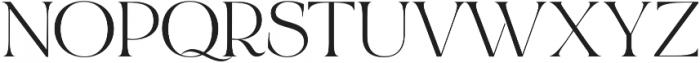 Bon Vivant Serif otf (400) Font UPPERCASE