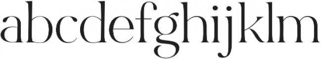 Bon Vivant Serif otf (400) Font LOWERCASE